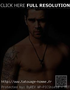 tatouage homme bras thème mer